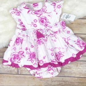 🌟NWT Children's Place Rose Flower Print Dress